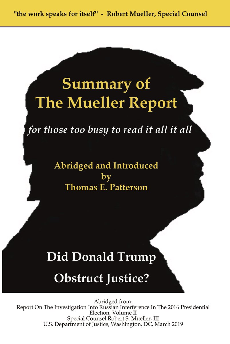 Summary of the Mueller Report